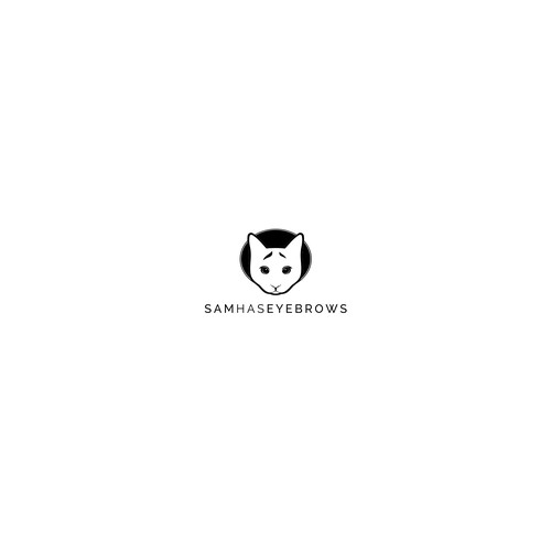 Famous cat needs a simple, famous logo