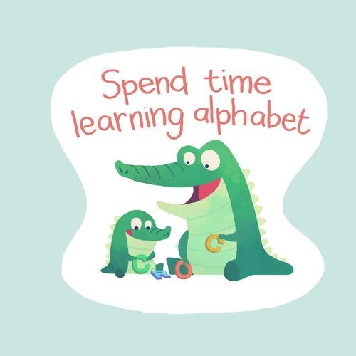 Fun Sticker for Children