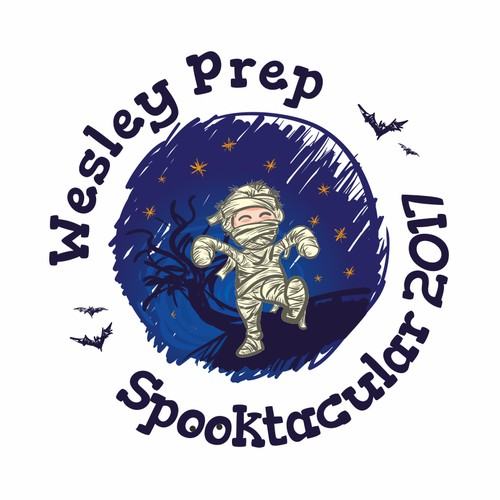 Logo for Halloween school
