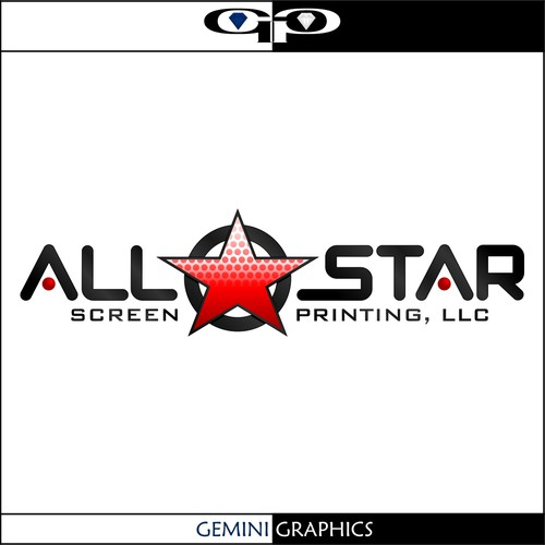 logo for All-Star Screen Printing, LLC.