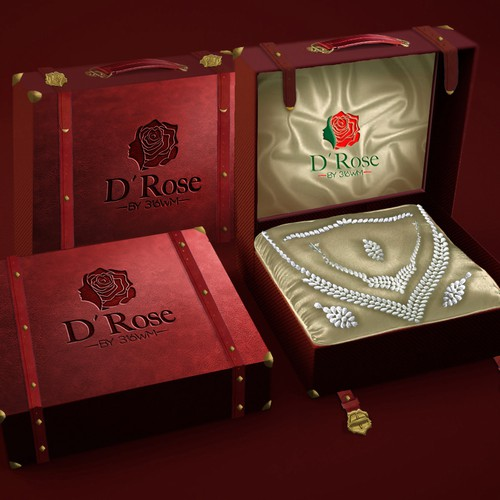 Packaging D´Rose.