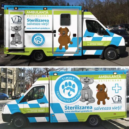 VET Ambulance Wrap