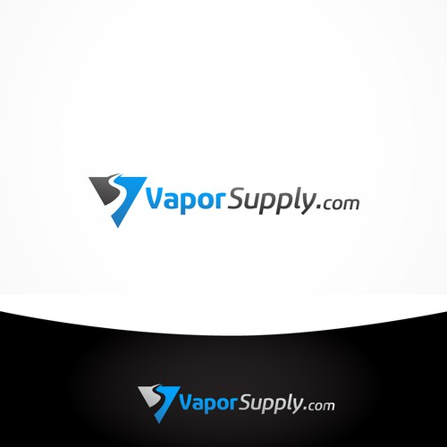 Logo design for: high quality authentic vapor products