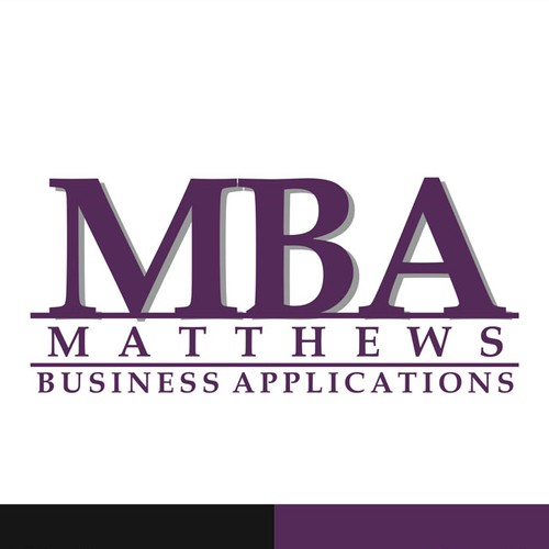 Logo Design for Matthews Business Applications