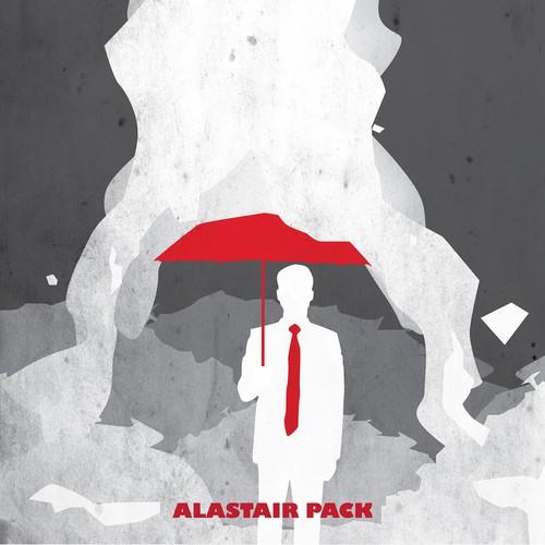 Design a fun cover for a British comedy novel.