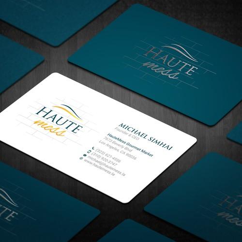 HauteMess Business Card
