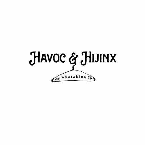 Havoc & Hijinx - vintage retail logo