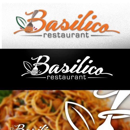 New Italian Restaurant, Basilico needs logo