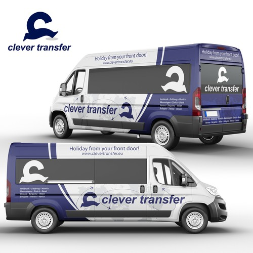 Clever Transfer Wrap Design