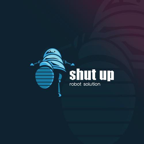 Shut Up Robot Solution
