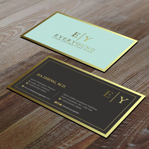 Every Young Luxury Businesscard