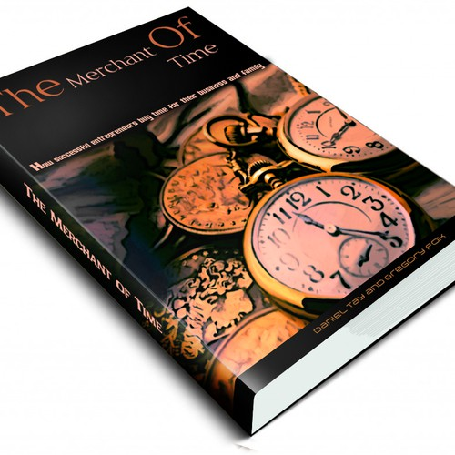 The Merchant of Time: Design a book cover