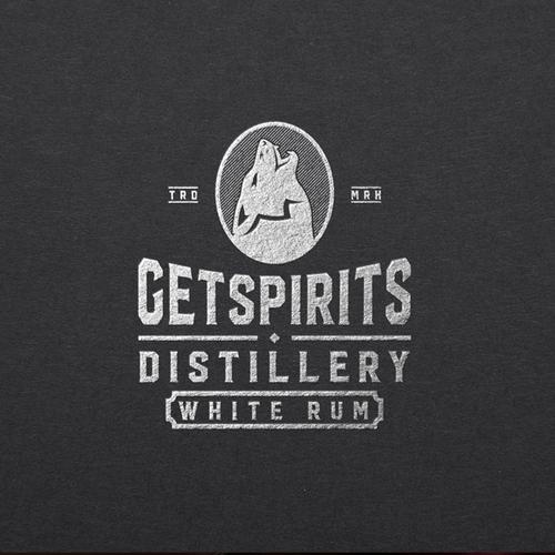 Logo for distillery company