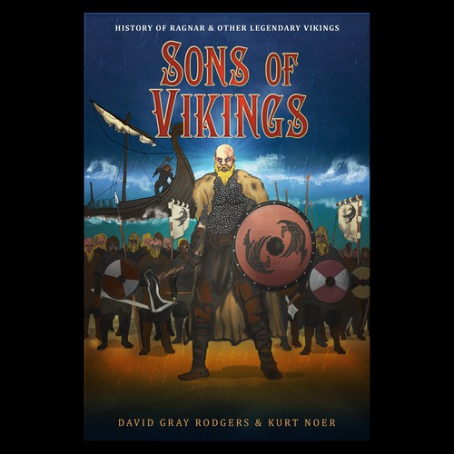 Book cover for sonsofvikings.com