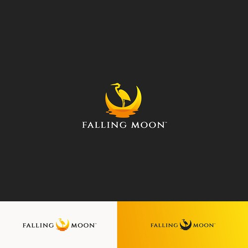 Falling Moon Logo