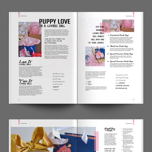 Ebook Layout for Pupcake Sugar