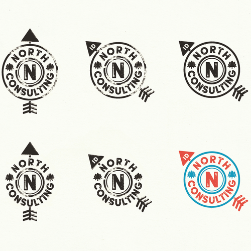Vintage logo for a business marketing cunsulting