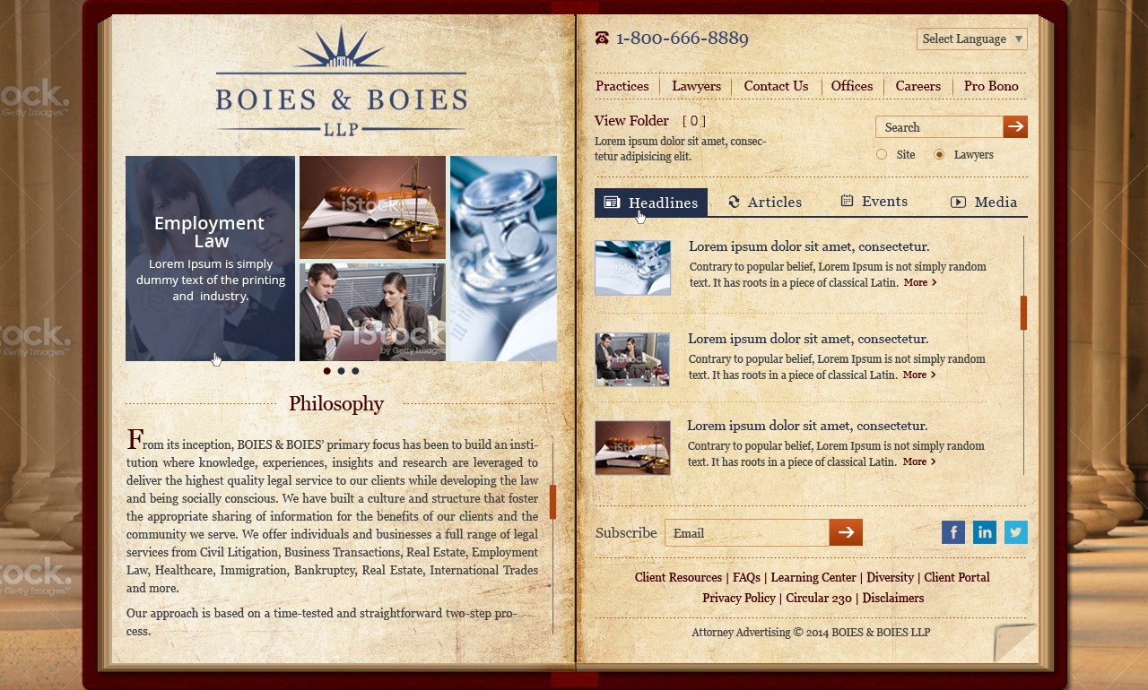 BOIES & BOIES LLP - A Premier New York Based Law Firm