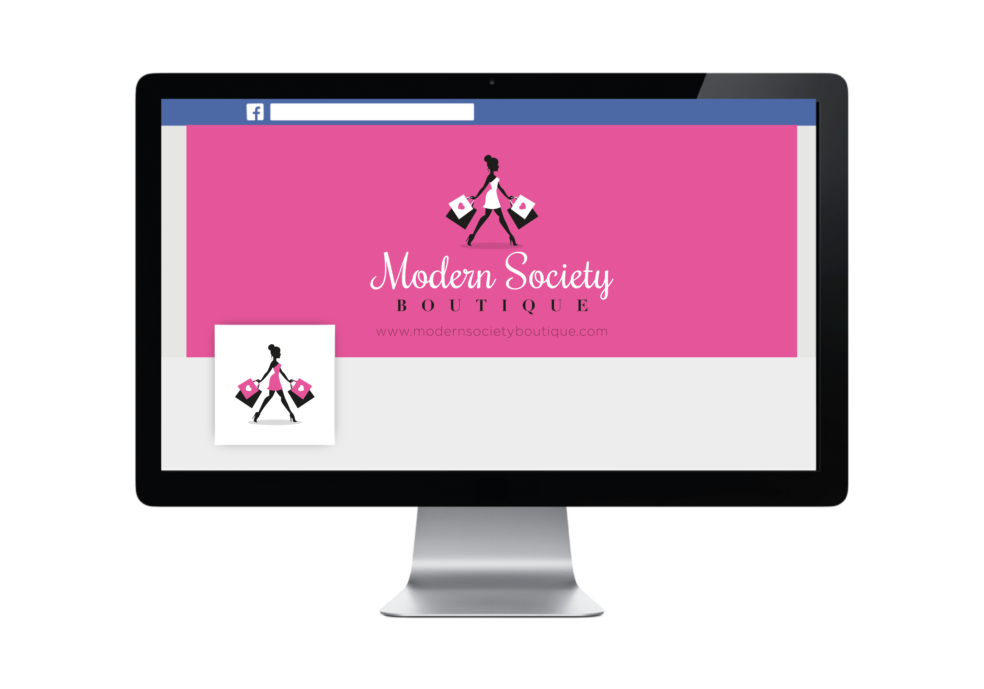 Design a chic, modern logo for online women's clothing boutique