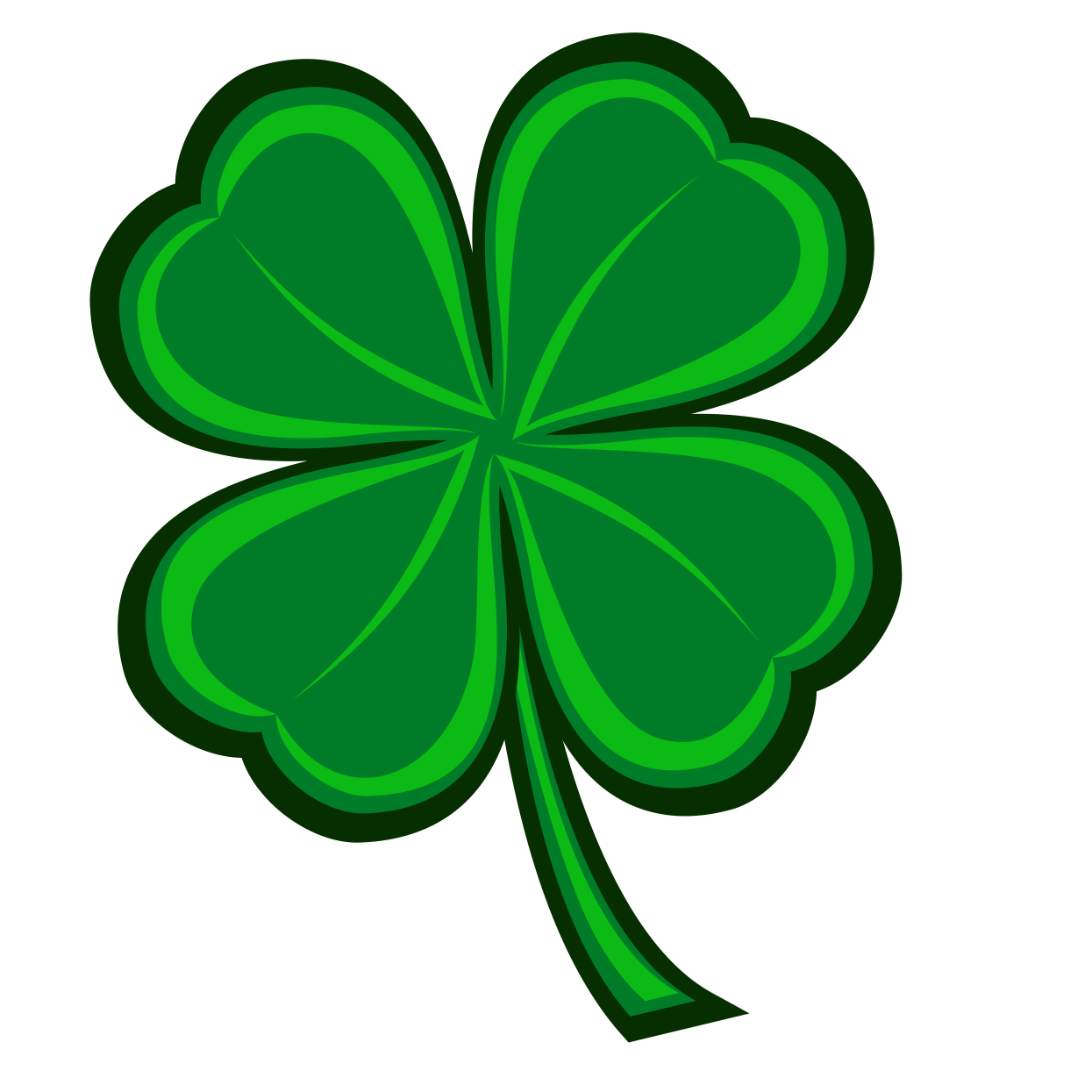 New illustration wanted for RunGoddess - Four Leaf Clover Temporary Tattoo