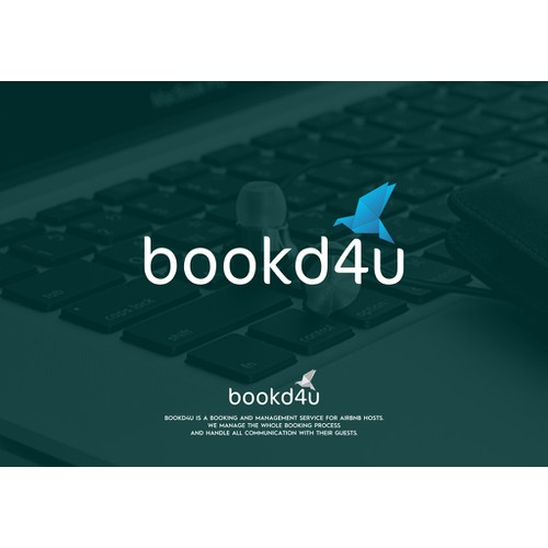 Create an attractive booking website logo