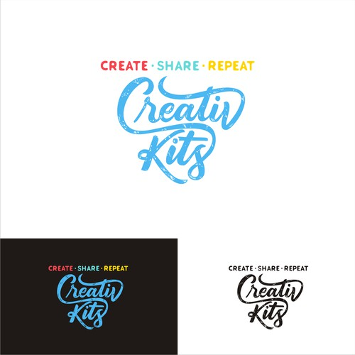 Creative Kits Hand Lettering Logo