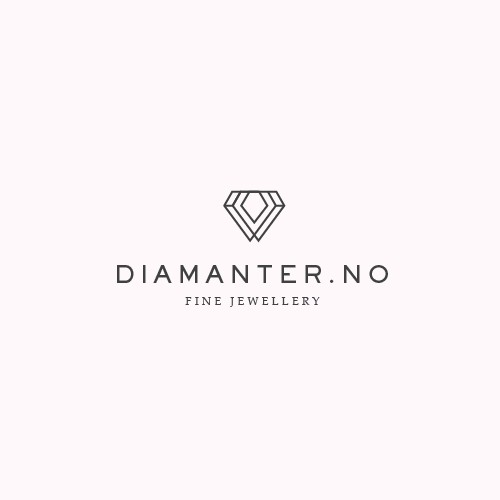 Minimal logo for diamond company