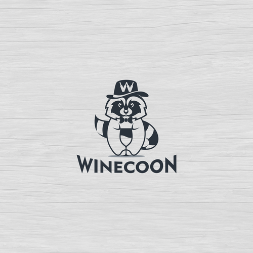 logo and social pack media for Winecoon