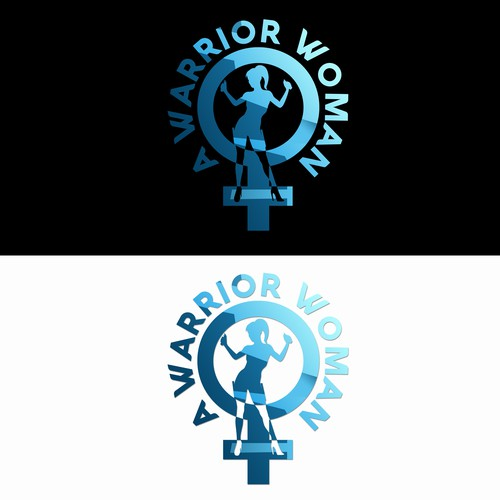 A Warrior Woman Logo Design