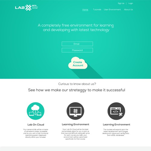 Create a revolutionary website for LabxNow!!! (Flat/Material Design)