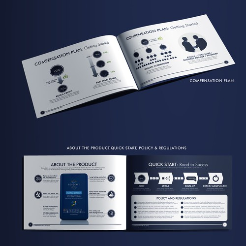 Infographic Brochure for Cellements