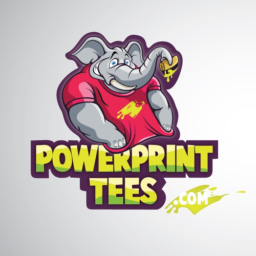 logo for PowerPrint Tees / PowerPrintTees.com