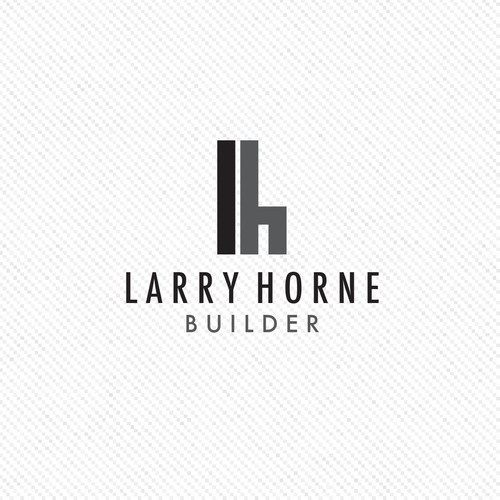 Larry Horne Builder needs a modern minimalist logo.