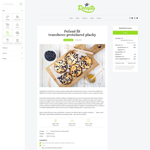 Fit Recepty Food Blog