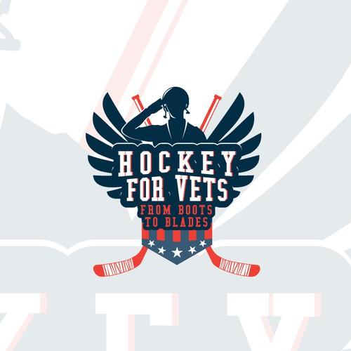 Hockey For Vets Logo