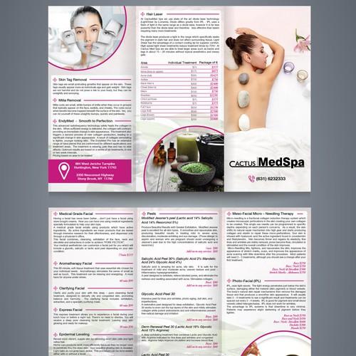 Brochure for MedSpa
