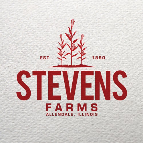 Bold logo concept for Farms
