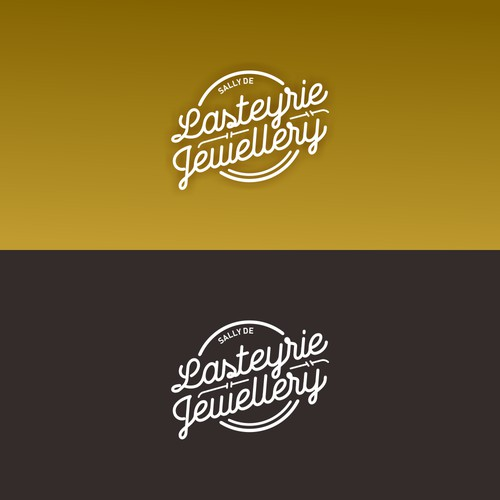 logo concept for Lasteyrie Jewellery