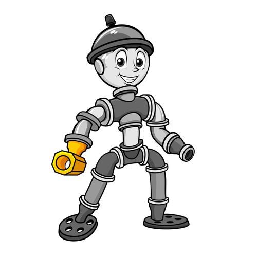 plumbing mascot