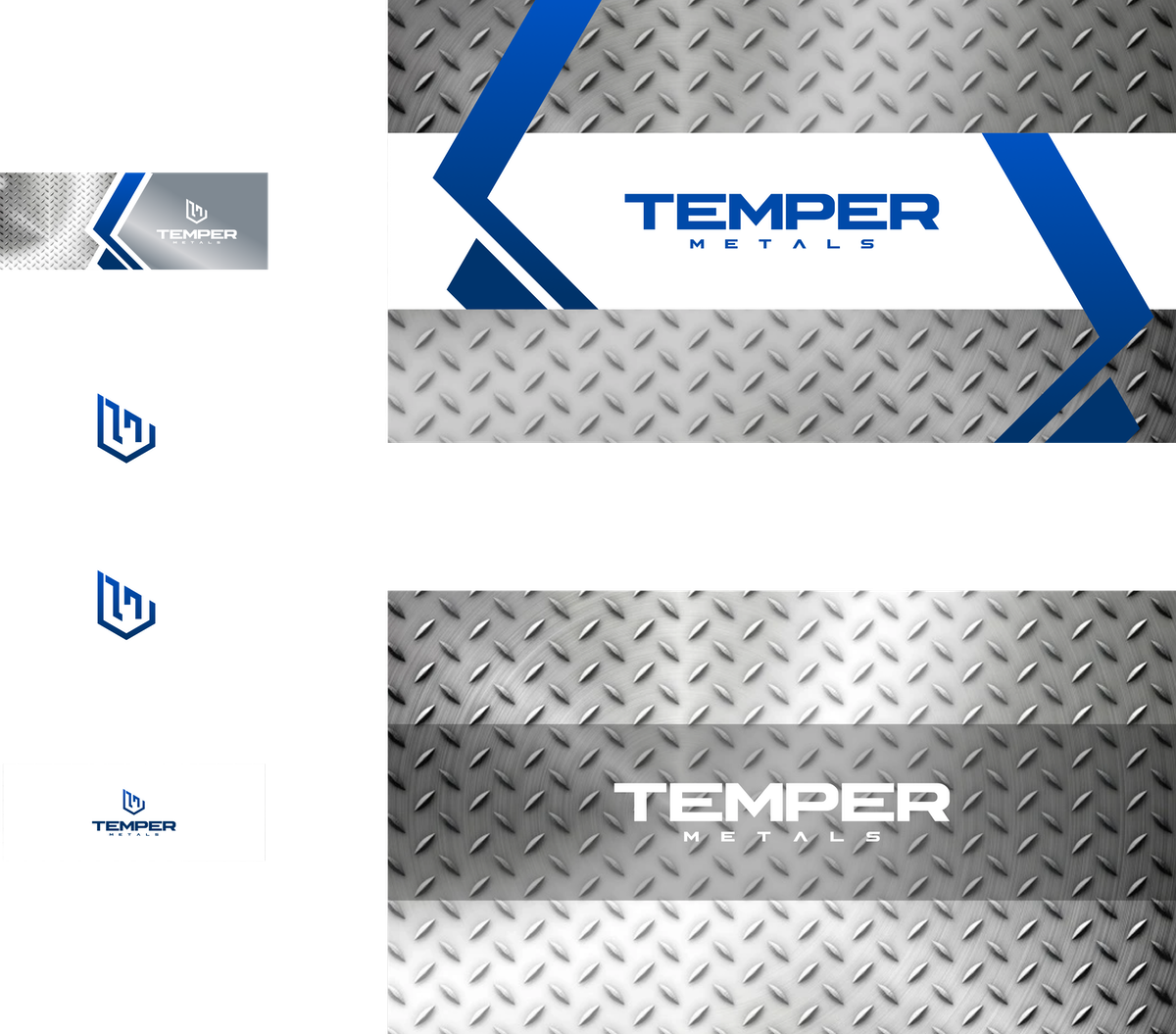 Logo Brand Package for Metal supply store