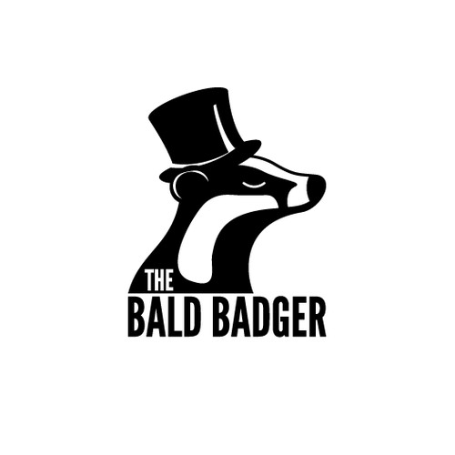 Bald Badger vintage logo