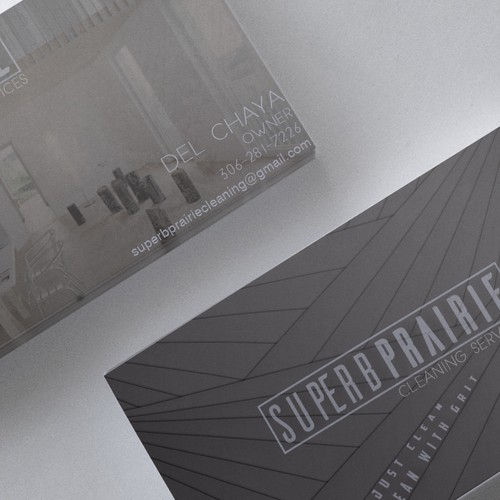 Business card concept for Superb Prairie