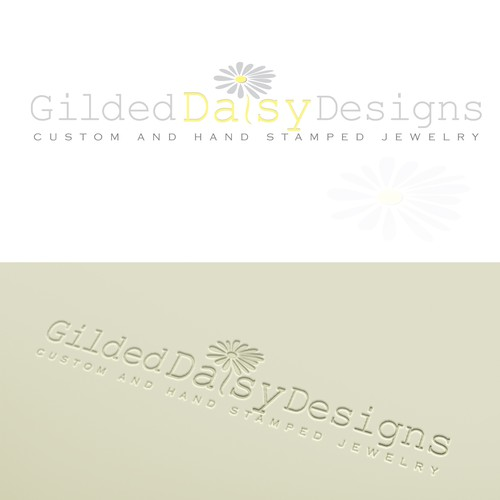 New logo and business card wanted for Gilded Daisy