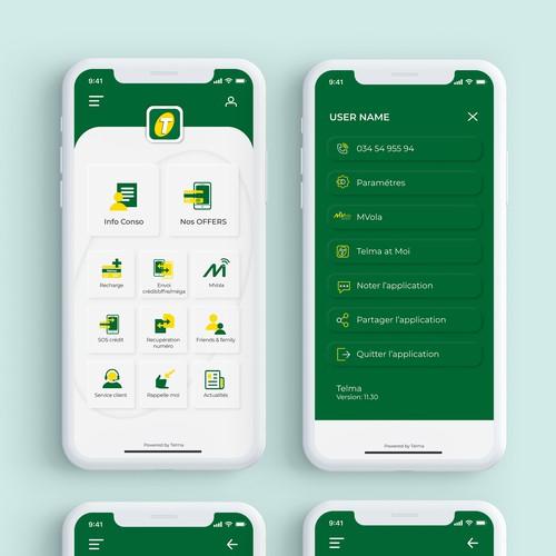 Telma App Design