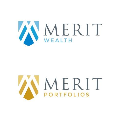 Logo design for Merit Wealth