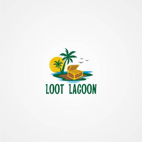 Loot Lagoon logo