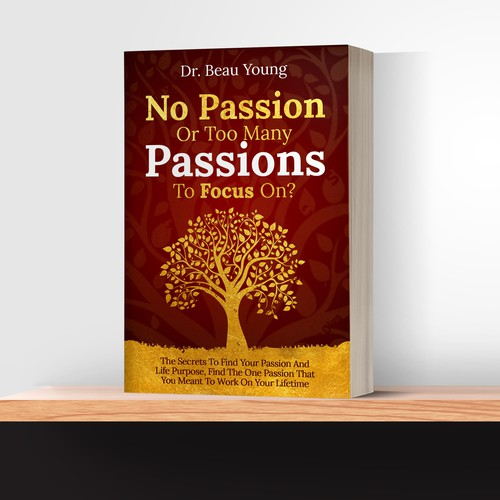"Ebook Cover ""No Passion Or Too Many Passion To Focus On?"""