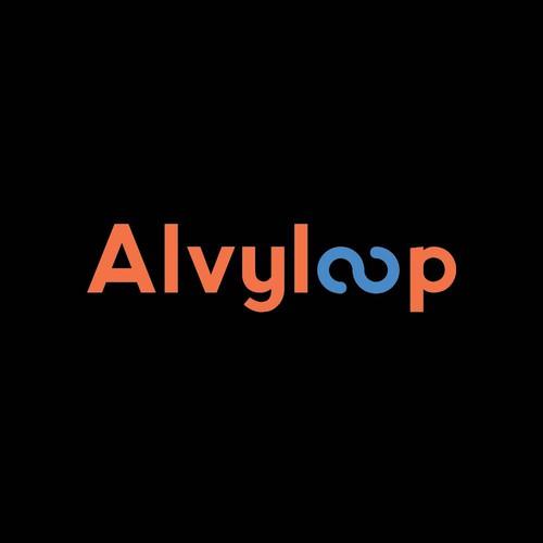 Alvyloop Logo Concept