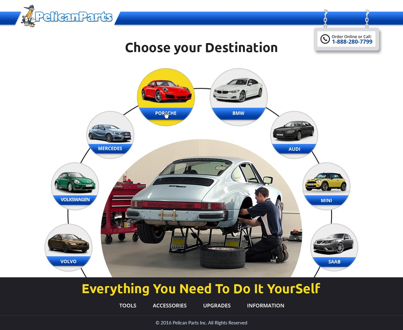 Create a Compelling Design Refresh for a Top Performing Automotive Website
