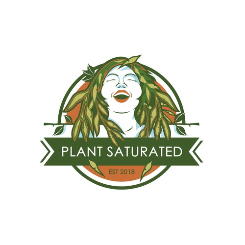 Urban Jungle Plant LOGO - Clean, Playful, and Modern